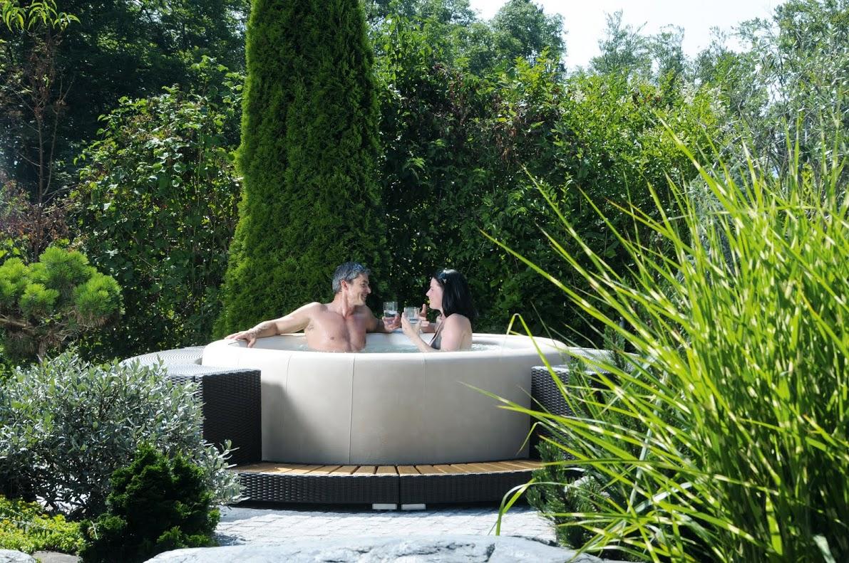 wellness whirlpool sauna pool b der ausstellung m nster