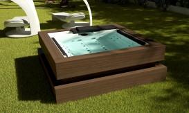 Aquavia Spas, Modell Cube mit dem Design Award ausgezeichnet
