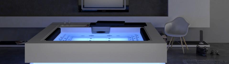 AquaVia Modell Cube