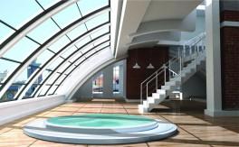 Aquavia Spas, Modell Capri mit dem Design Award ausgezeichnet