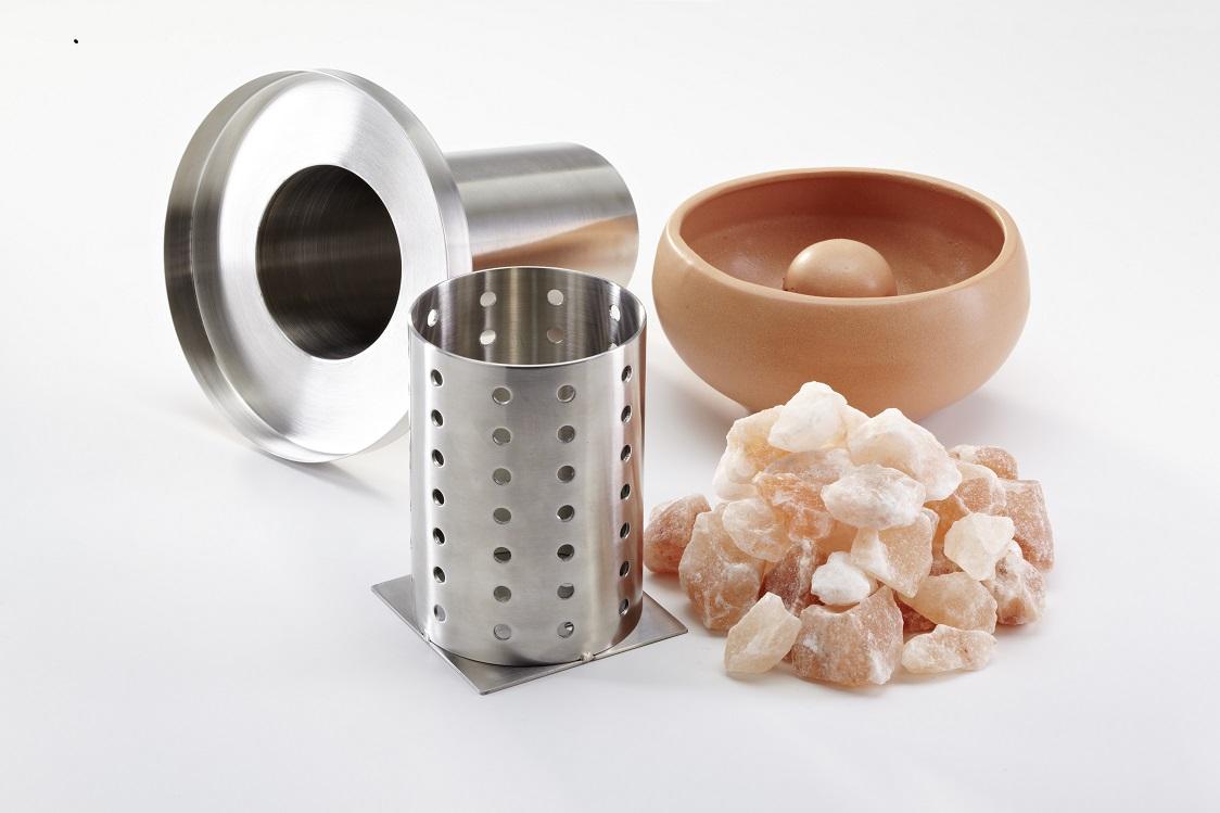 Salzverdampfer / Soleverdampfer für Saunaöfen