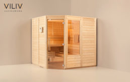 Viliv Sauna, Modell Klassik mit Extras